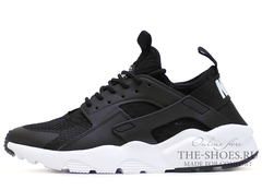 Кроссовки Мужские Nike Air Huarache Run Ultra Hyper Black White