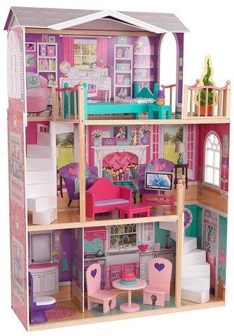 KidKraft Делюкс Deluxe - кукольный домик с мебелью 65830