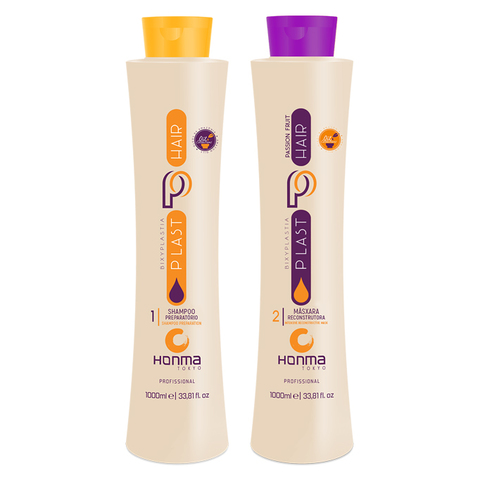 Набор Plast Hair Bixyplastia Passion Fruit с маракуйей Honma Tokyo