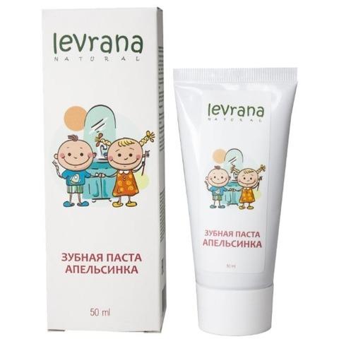 Детская зубная паста Апельсинка, Levrana