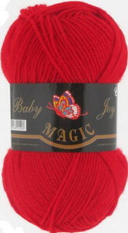 Пряжа Baby Joy (Magic) 5724 Красный фото