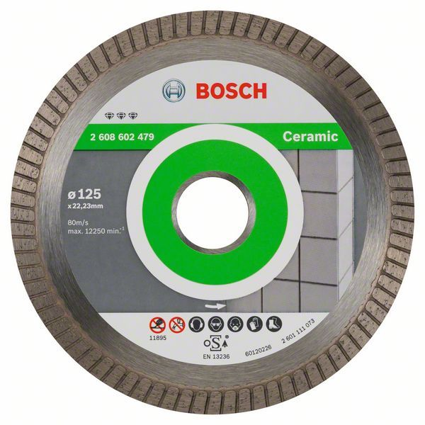Алмазный диск Best for Ceramic 125-22,23 Bosch 2608602479