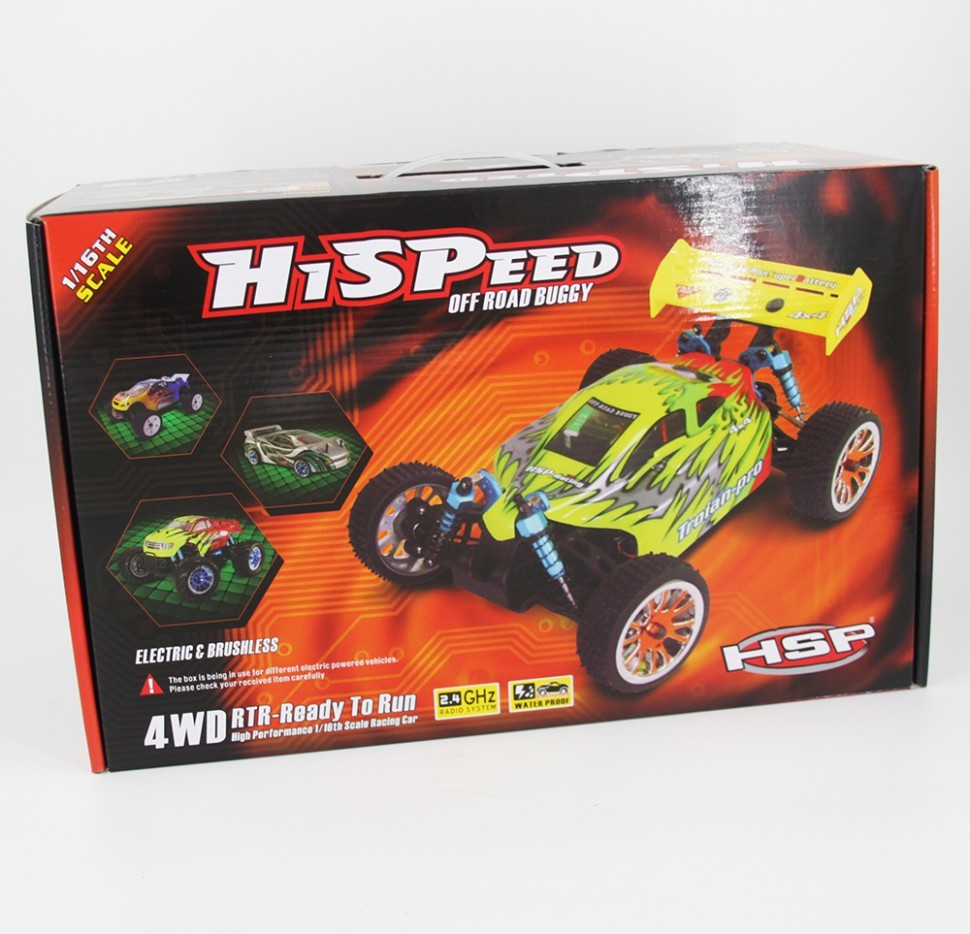 Дрифтовая HSP Flying Fish 2 94163-16375 4WD 2.4G в масштабе 1:16