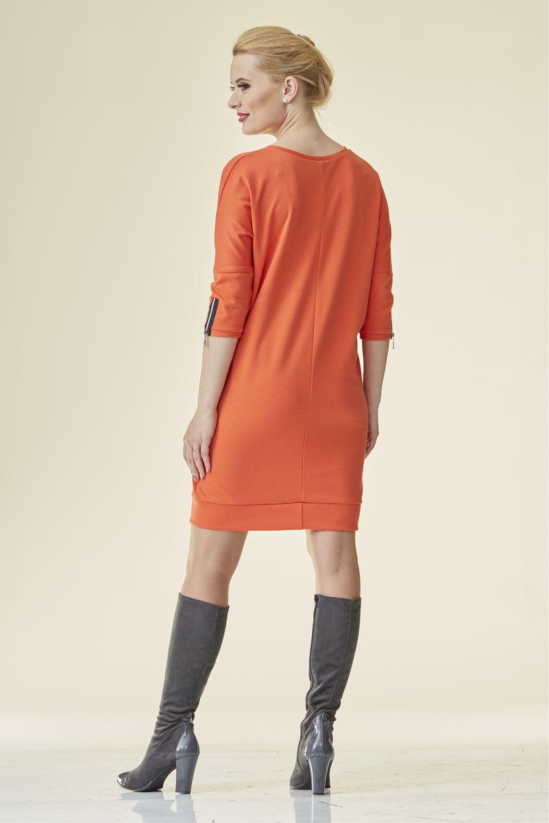 Туника 07236 оранжевый