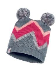 Вязаная шапка с флисовой подкладкой детская Buff Hat Knitted Polar Arild Grey