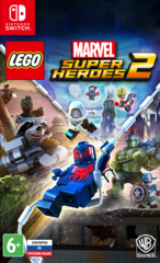 Nintendo Switch LEGO Marvel Super Heroes 2 (русские субтитры)