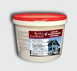 Краска для деревянных фасадов  EcoWood (ЭкоВуд) Rezolux матовая