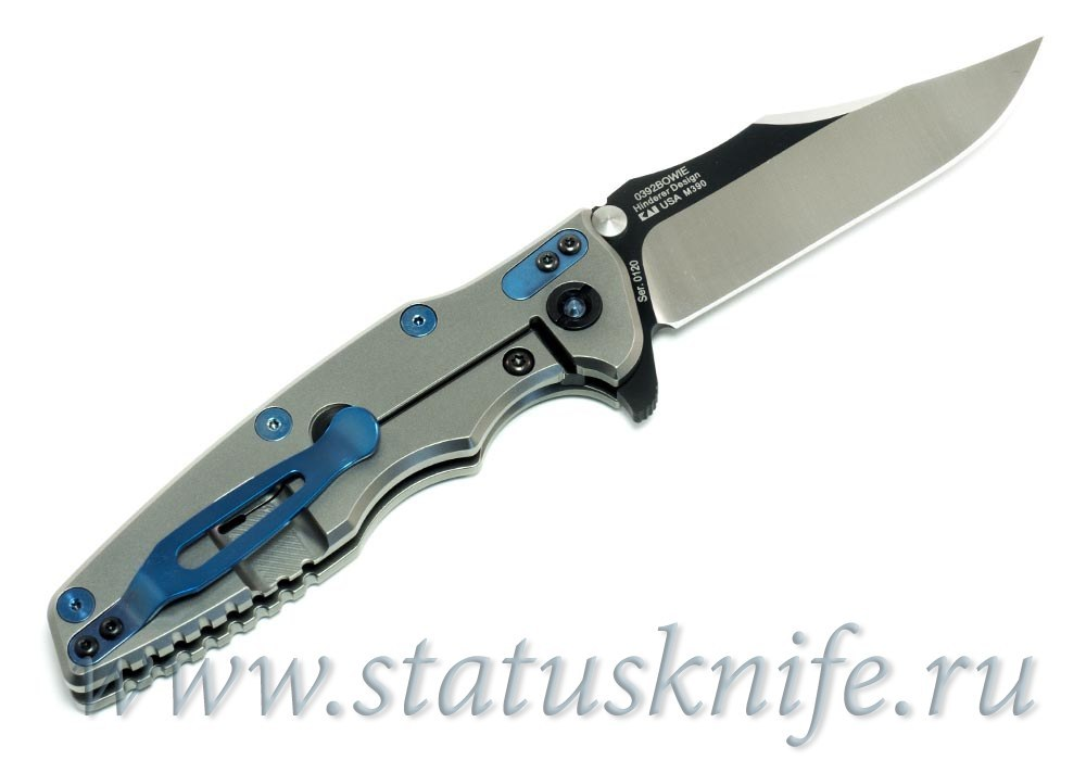 Нож Zero Tolerance 0392BOWIE Rick Hinderer Limited Edition