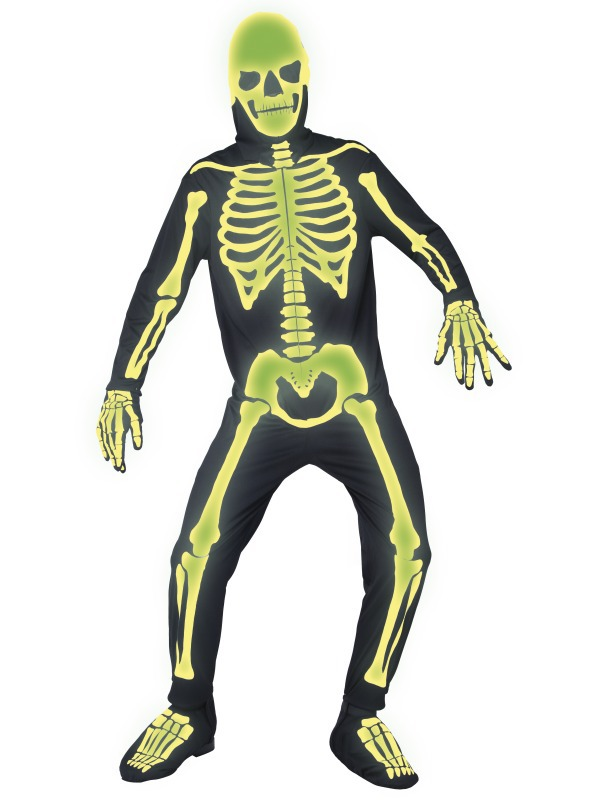 Костюм Скелет светящийся