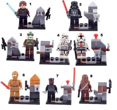 Minifigures Star Wars Blocks Building Series 04