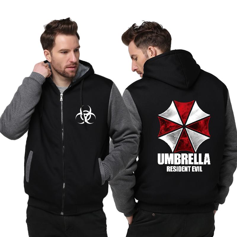 Куртка утепленная с капюшоном Обитель Зла — Jacket Resident Evil