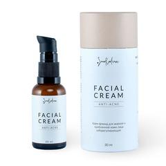Крем для проблемной и жирной кожи лица Anti-Acne, SmoRodina