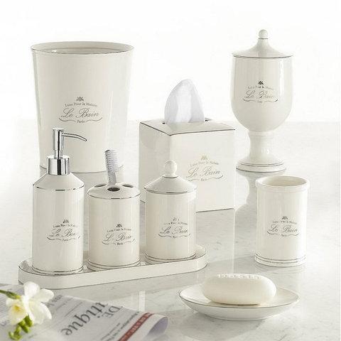 Дозатор для жидкого мыла Kassatex Le Bain White