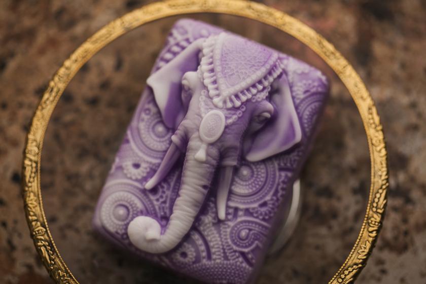 Мыло индийской тематики. Форма Слон