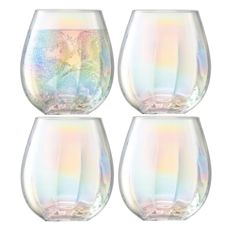 Стакан Pearl 4шт. LSA G1331-15-401Бокалы и стаканы<br>При создании коллекции Pearl дизайнеры вдохновлялись природной красотой натурального жемчуга: перламутровое мерцание, совершенство форм, тонкая работа и деликатная игра света. Сет из 4-х стаканов ручной работы упакован в красивую коробку и станет великолепным подарком на любой праздник.<br>