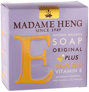Madame Heng Мыло с Виноградной косточкой Мадам Хенг Natural Balance plus Grape Seed, 150 г