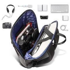 Рюкзак плоский для ноутбука BOPAI чёрный