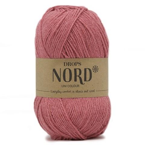 Пряжа Drops Nord 13 розовый
