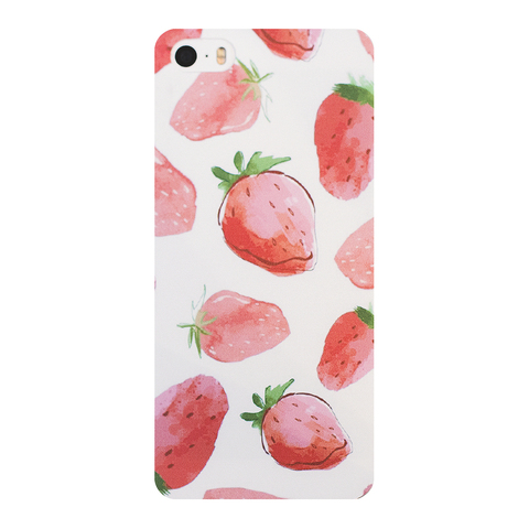 Чехол для IPhone 6 Plus Strawberry