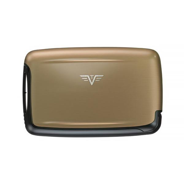 Визитница c защитой Tru Virtu PEARL, цвет светло-бежевый , 104*67*17 мм