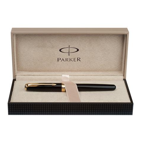Parker Sonnet - Essential Black Lacquer GT, перьевая ручка, F