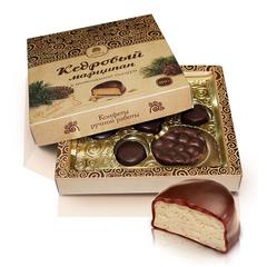 Конфеты Марципан кедровый в шоколадной глазури 170 г