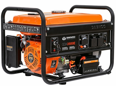 Генератор бензиновый Daewoo GDA 3500E Master Line