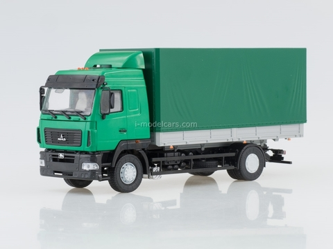 MAZ-5340 flatbed restyling green 1:43 AutoHistory