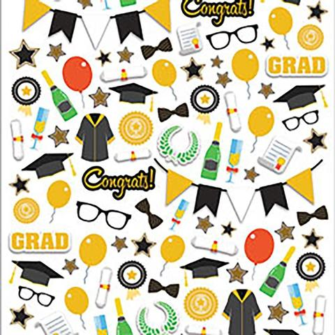 Стикеры микро Paper House Life Organized Micro Stickers - Graduation-364 шт