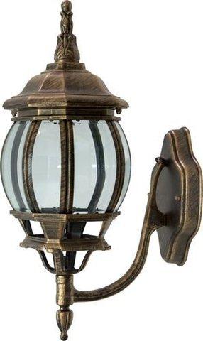 Светильник садово-парковый, 100W 230V E27 черное золото, 8101 (Feron)