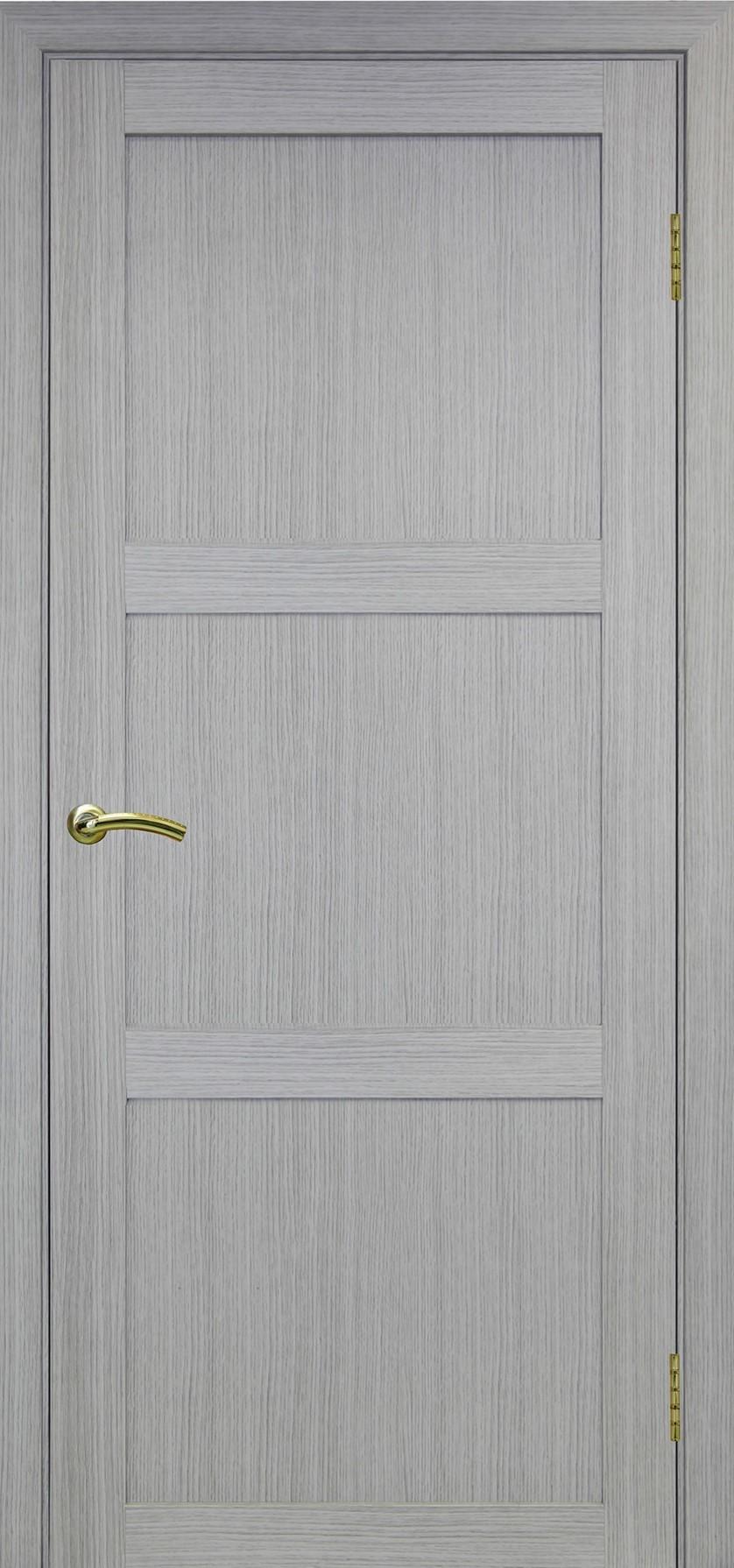 Турин 530 Дуб серый FL ЭКО-шпон Остекление №111 Щит МДФ, Двери OPTIMA PORTE