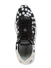 Комбинированные кроссовки Premiata Conny 3608 на шнуровке