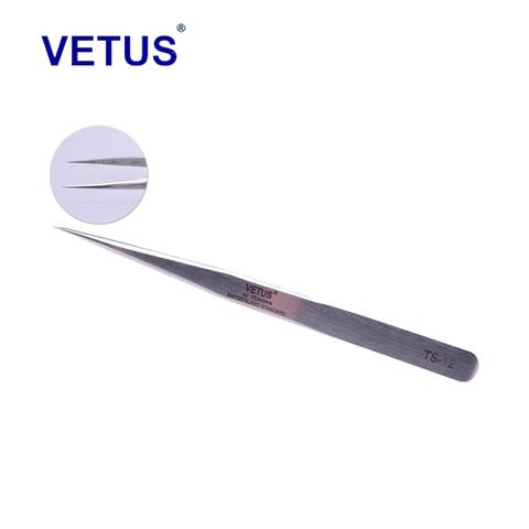 Пинцет VETUS TS-12 прямой