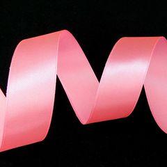 Лента Атлас Розовый / 25 мм * 22,85 м