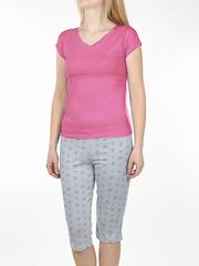 PT021505-02-9 пижама женская, малиновая