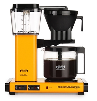 Moccamaster KBGC982 AO yellow pepper