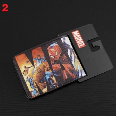 DC Comics Marvel Wallet Set 3