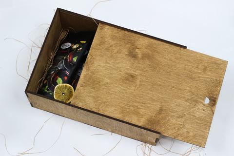 Большой набор кофе и чая №1 в подарочной коробке