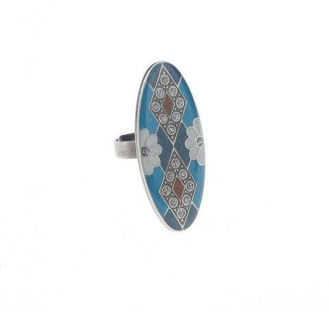 Кольцо Clara Bijoux K74381 BL