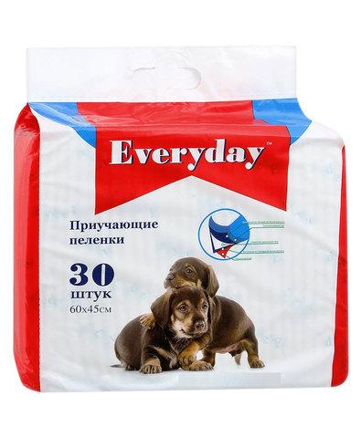 Everyday впитывающие пеленки для животных гелевые 60x45см 30шт