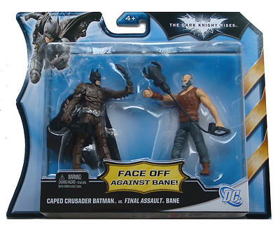 Dark Knight Rises Face Off Against Bane