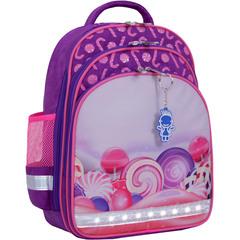 Рюкзак школьный Bagland Mouse 339 фиолетовый 409 (0051370)