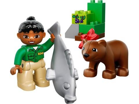 LEGO Duplo: Рыбалка в лесу 10583 — Forest: Fishing Trip — Лего Дупло