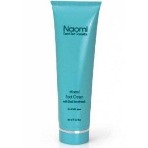 Крем для ног с минералами мертвого моря Naomi