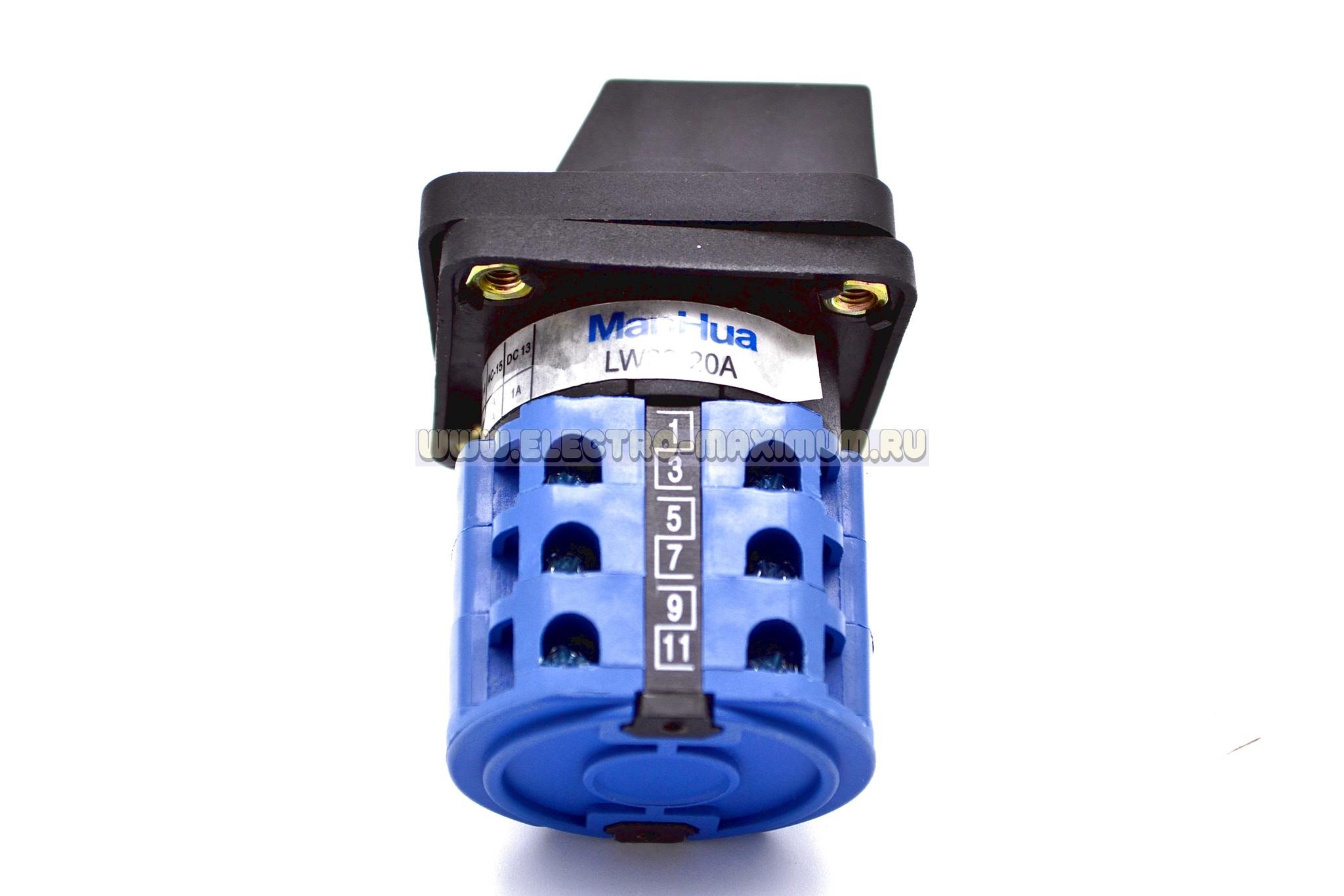 Кулачковый выключатель LW28-20A