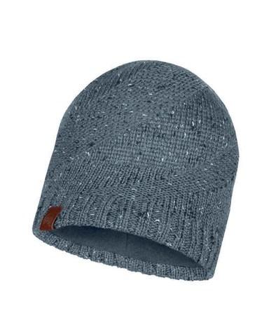 Вязаная шапка с флисовой подкладкой Buff Hat Knitted Polar Arne Grey