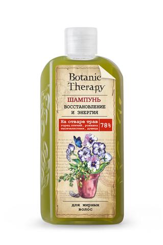 Modum Botanic Therapy Шампунь для жирных волос Восстановление и энергия 285г