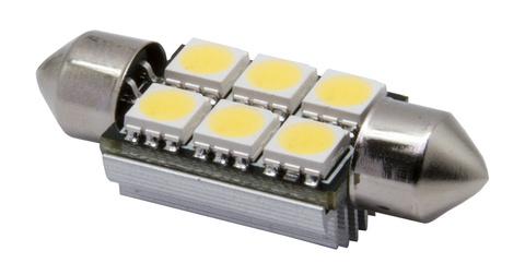 Светодиодная лампа SV8,5/C5W MTF Light (с обманками)