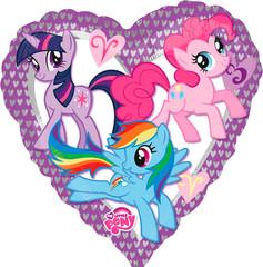 А 18 Сердце Моя маленькая Пони /My little Pony s60/ 1шт