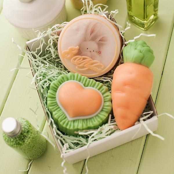 Мыло Морковка. Форма для изготовления